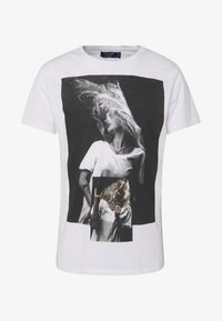 Religion - PATCH TEE - T-shirts med print - white - 4