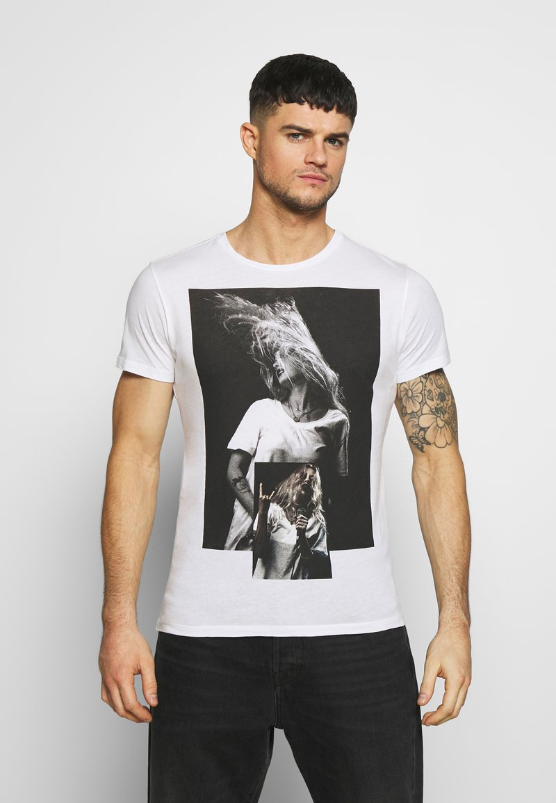 Religion - PATCH TEE - Print T-shirt - white