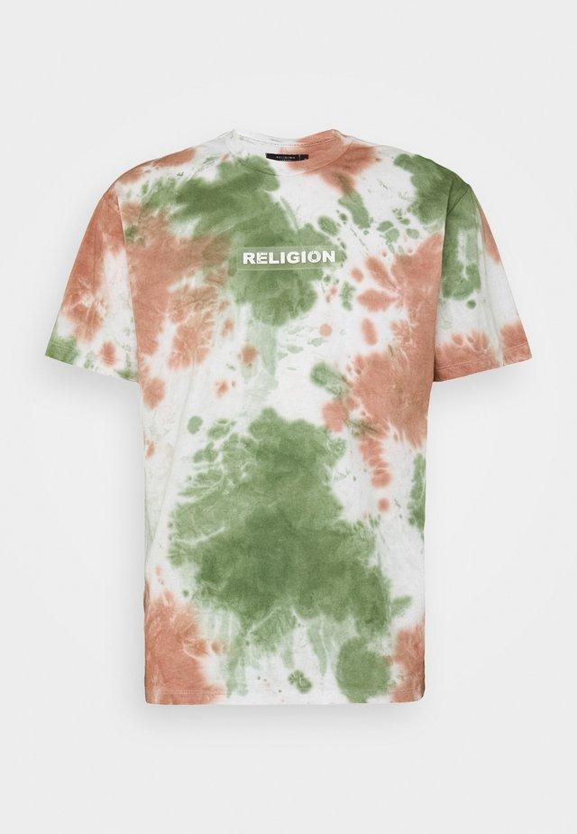 TOXIC TEE - Print T-shirt - tie dye