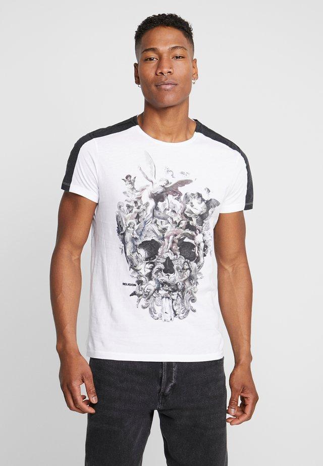 CHERRUBS SKULL TEE - T-shirt med print - white