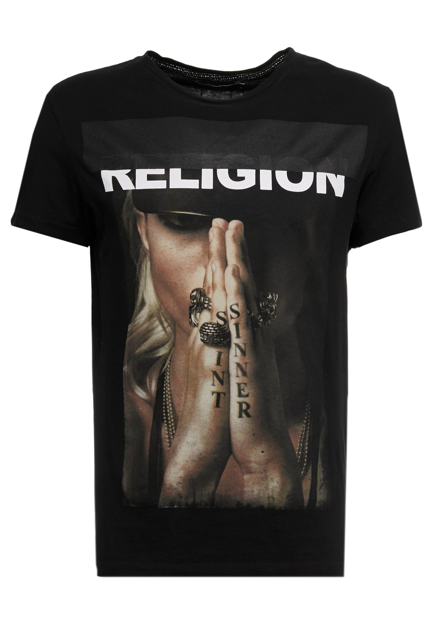 SINNER TEE T shirt imprimé black