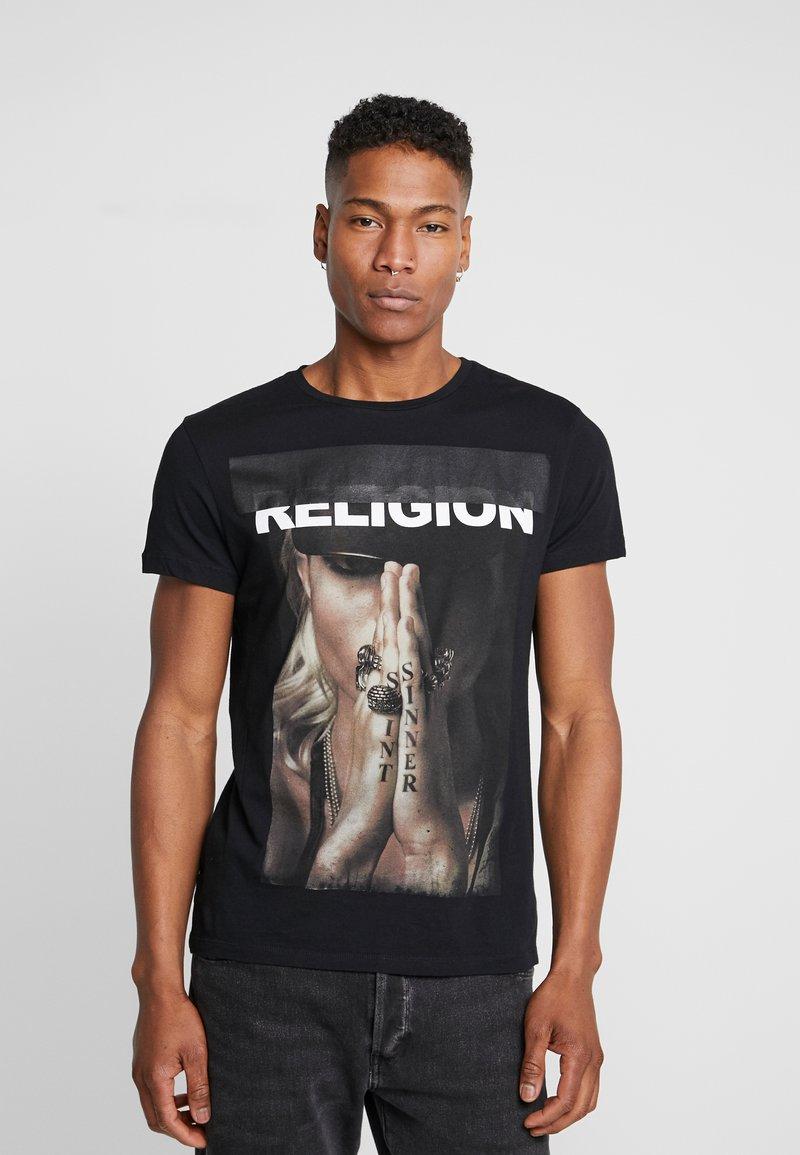 Religion - SINNER TEE - T-shirt print - black