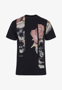 Religion - SLICE SKULL  - T-shirt z nadrukiem - black - 4