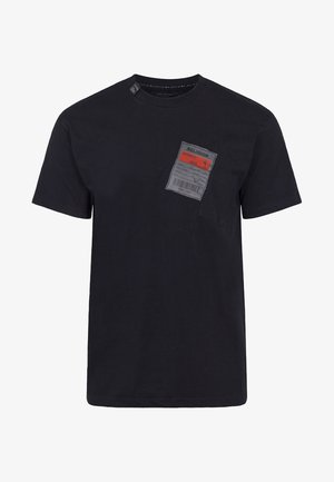 MEMBERS TEE - Print T-shirt - black