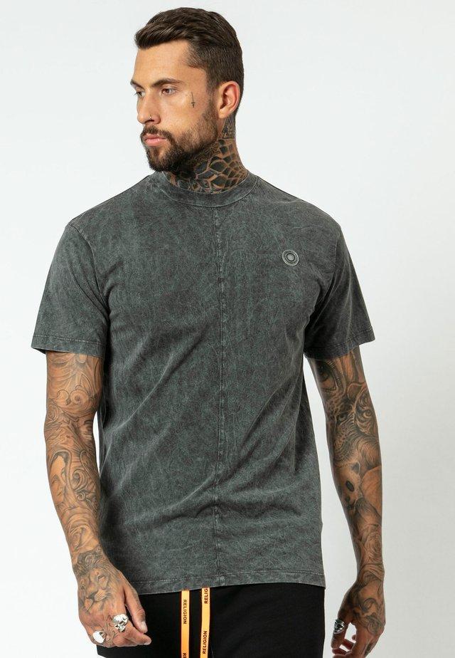 FLIP  - T-shirt z nadrukiem - washed black