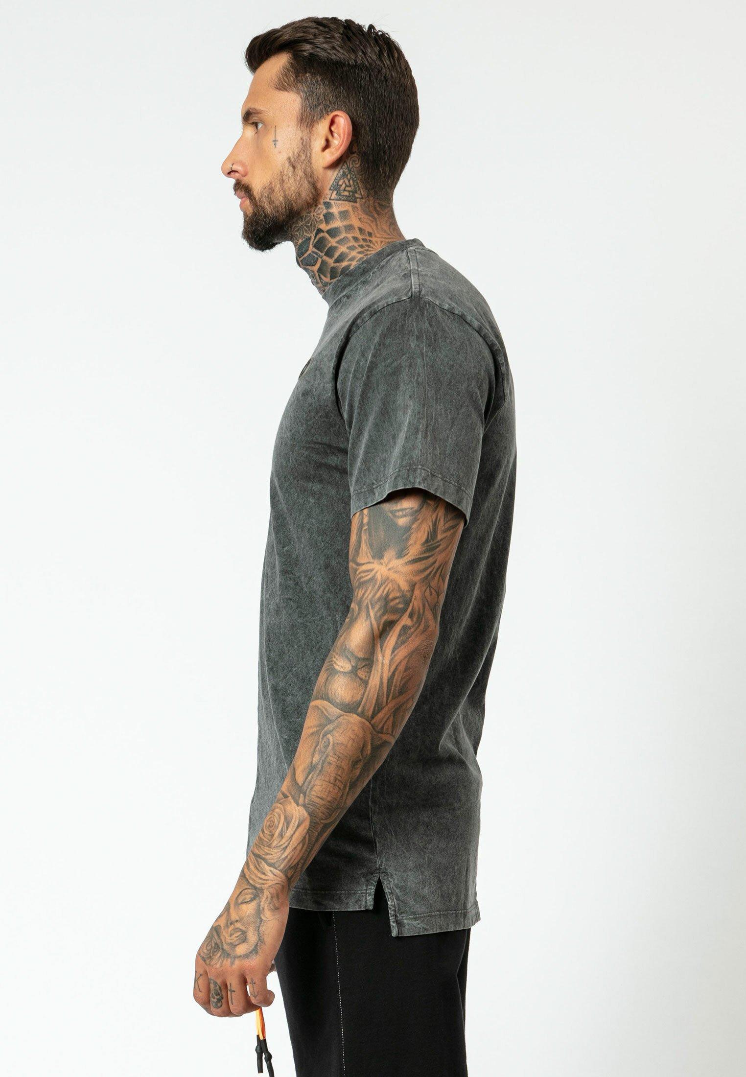 Religion FLIP - T-shirt z nadrukiem - washed black