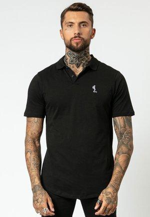 CURVED  - Poloshirt - black