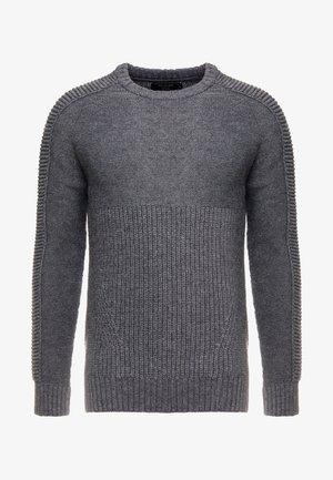 HARLEY - Stickad tröja - charcoal