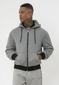 Religion - CLASH  - Zip-up hoodie - black/grey - 3