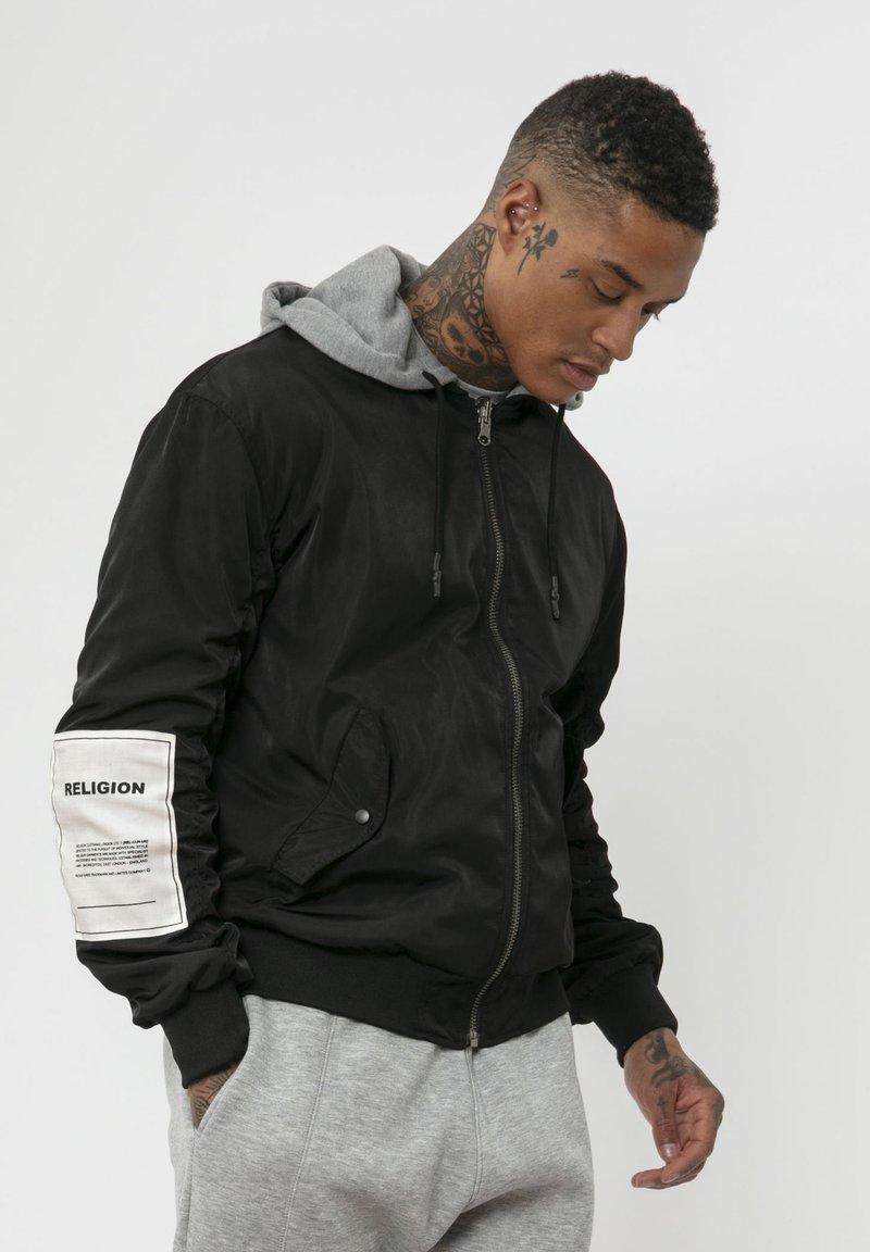 Religion - CLASH  - Zip-up hoodie - black/grey
