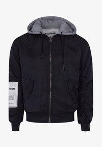 Religion - CLASH  - Zip-up hoodie - black/grey - 5