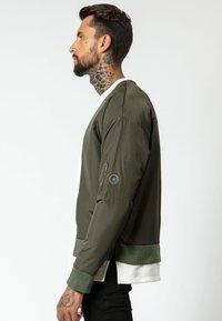Religion - Sweatshirt - khaki/off white - 3