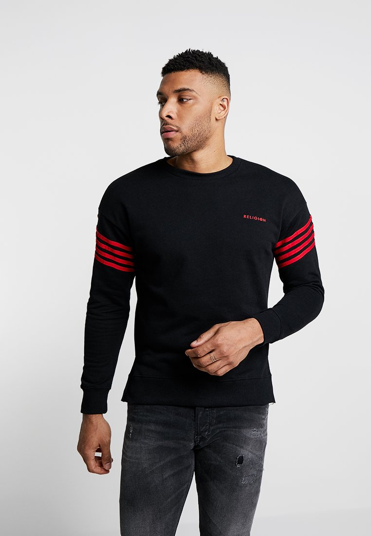 Religion - BOLT - Sweatshirt - black/red