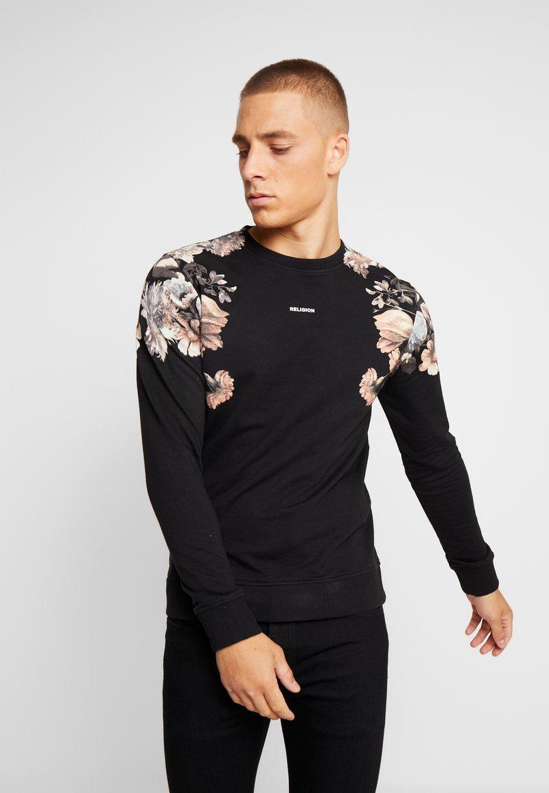 Religion - FLOWER - Sweatshirt - black