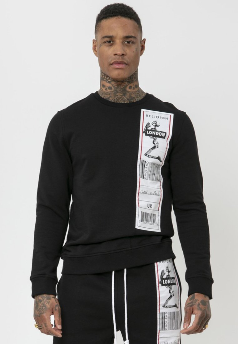 Religion - Sweatshirt - black/white