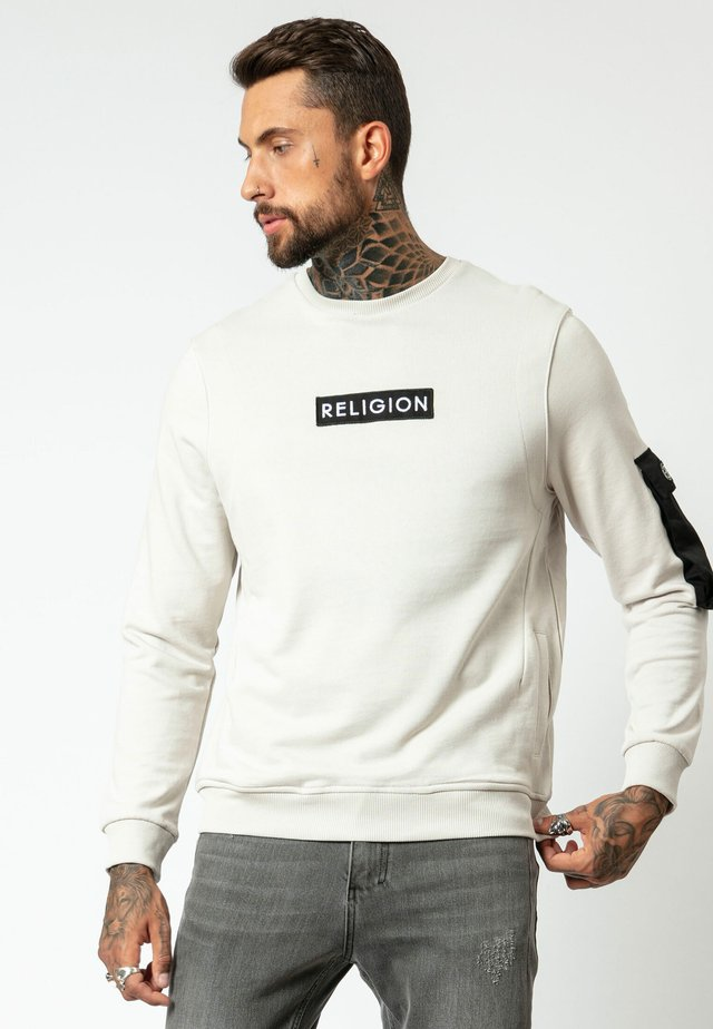 CADET SWEAT - Sweater - ivory