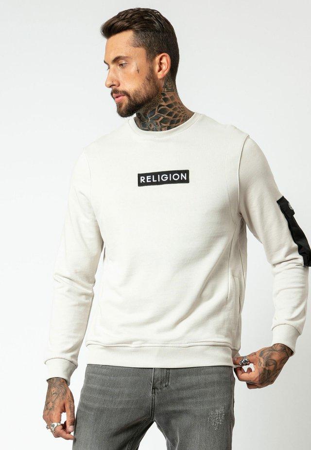 CADET SWEAT - Sweatshirt - ivory