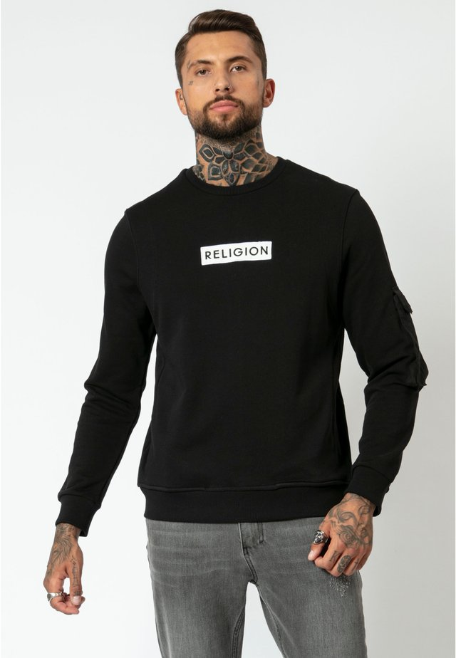 CADET SWEAT - Sweatshirt - black