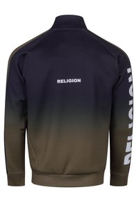 Religion - GRADIENT TRACK ZIP - Training jacket - black/khaki - 1
