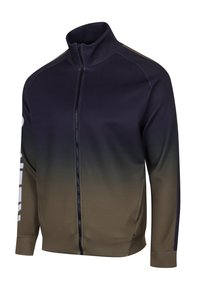 Religion - GRADIENT TRACK ZIP - Training jacket - black/khaki - 2