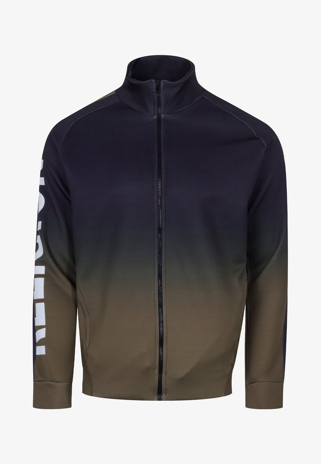 GRADIENT TRACK ZIP - Training jacket - black/khaki