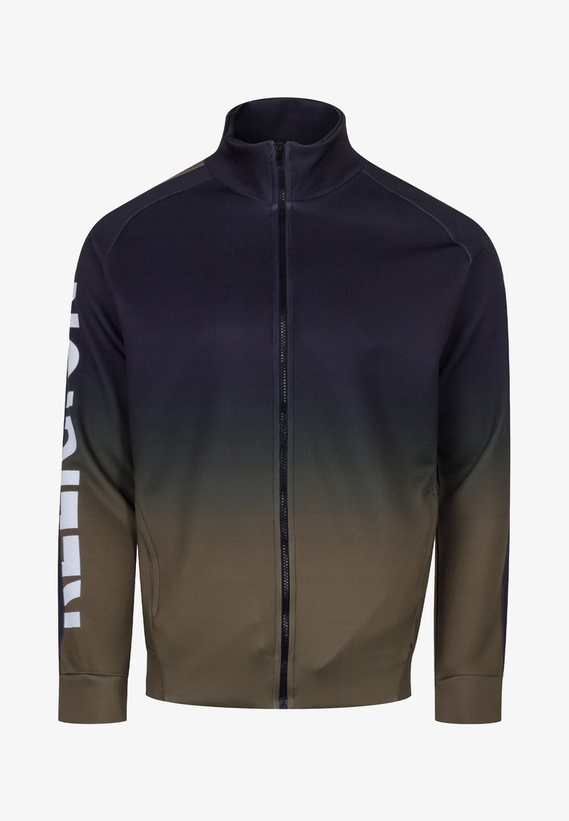 Religion - GRADIENT TRACK ZIP - Training jacket - black/khaki