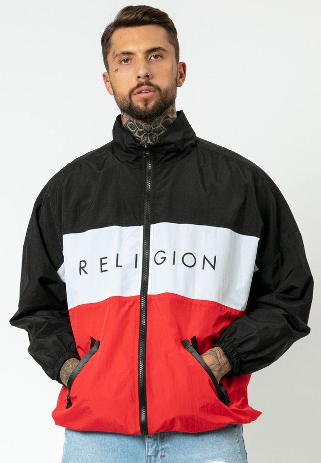 SIREN - Outdoor jacket - red/black
