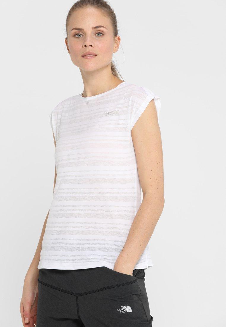 Regatta - LIMONITE - T-shirt print - white
