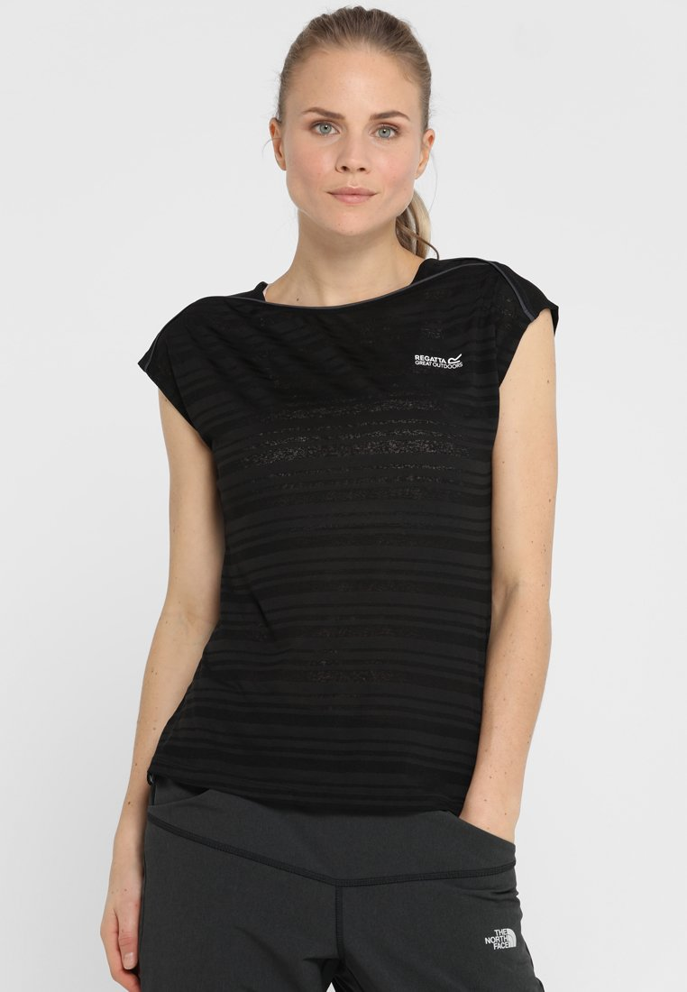 Regatta - LIMONITE - T-shirts print - black