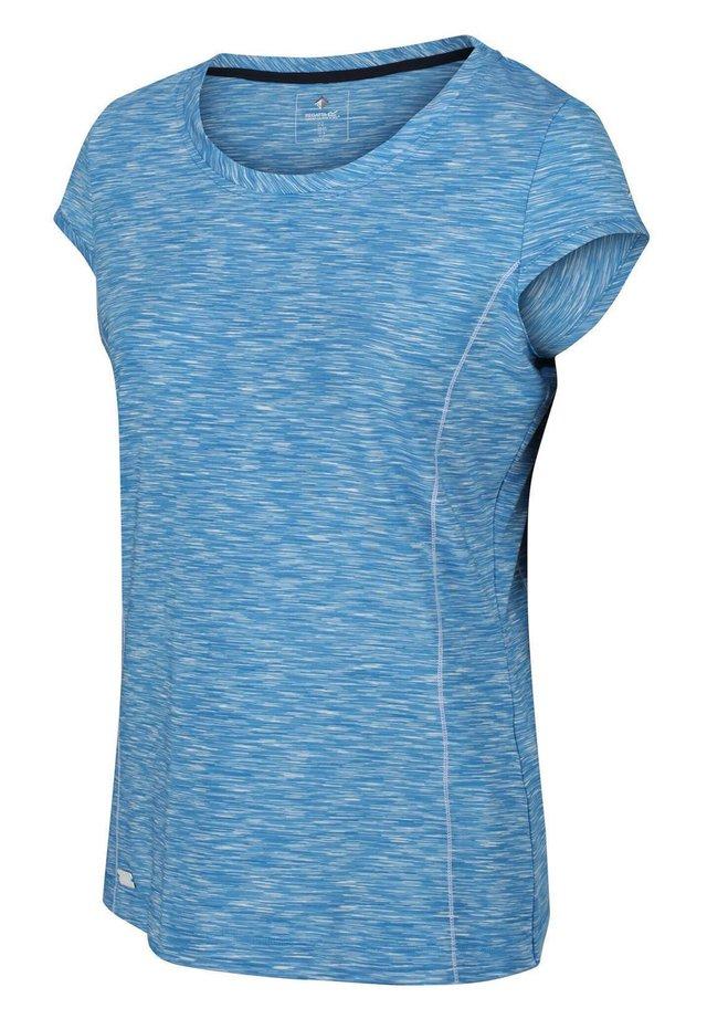 HYPERDIMENSION WANDER - Print T-shirt - blue aster