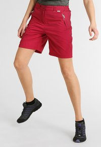 Regatta - CHASKA SHORT - Pantaloncini sportivi - dark cerise - 0