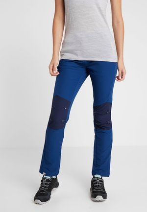 WOMENS QUESTRA - Pantaloni outdoor - prussian/navy