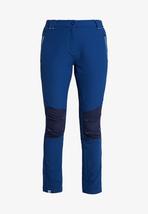 WOMENS QUESTRA - Pantalones montañeros largos - prussian/navy
