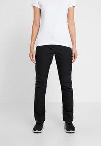 Regatta - WOMENS QUESTRA - Outdoor trousers - black - 0