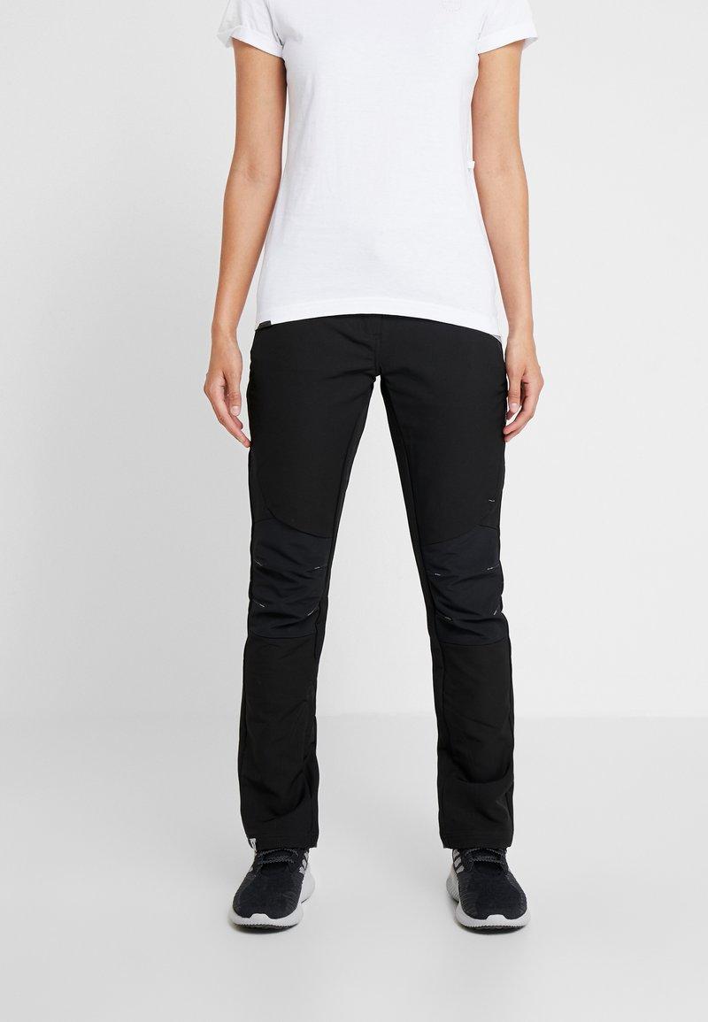 Regatta - WOMENS QUESTRA - Outdoor trousers - black