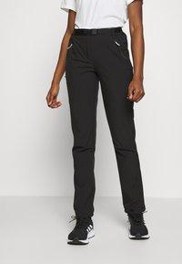 Regatta - XERT - Pantalones montañeros largos - black - 0