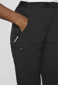 Regatta - XERT - Pantalones montañeros largos - black - 4
