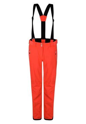 EFFUSED  - Snow pants - fiery coral