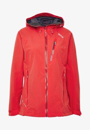 WOMENS BIRCHDALE - Regenjacke / wasserabweisende Jacke - red sky