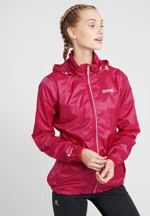 CORINNE  - Waterproof jacket - dark cerise