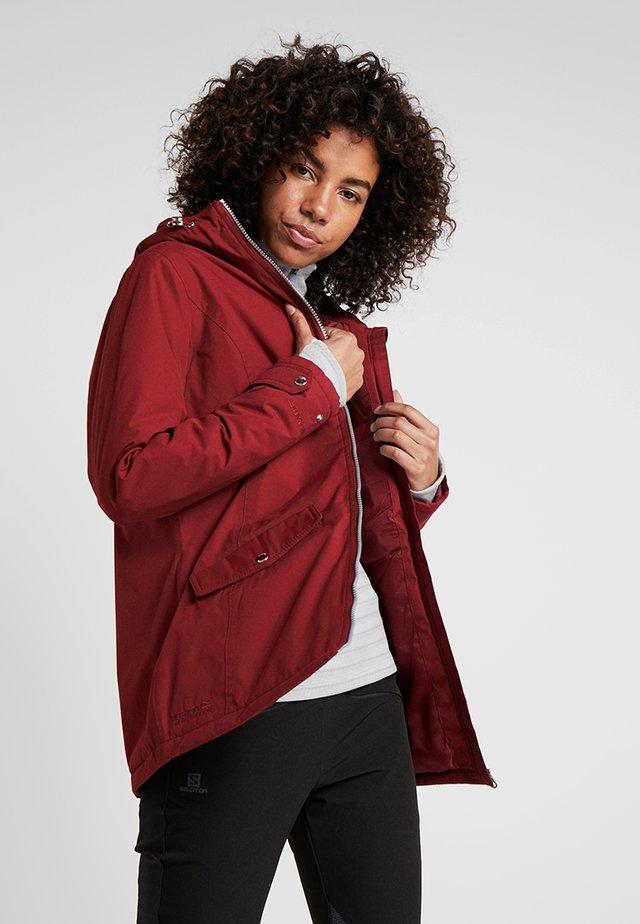 BERGONIA - Winter jacket - delhi red