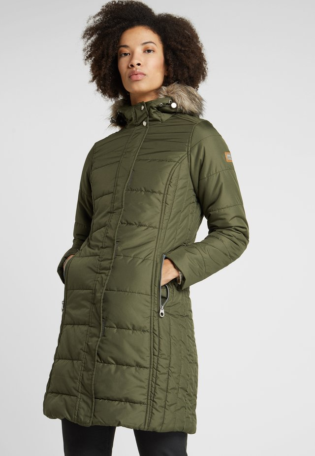 FERMINA - Winter coat - dark khaki