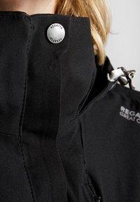 Regatta - CALYN - Hardshell jacket - black - 4