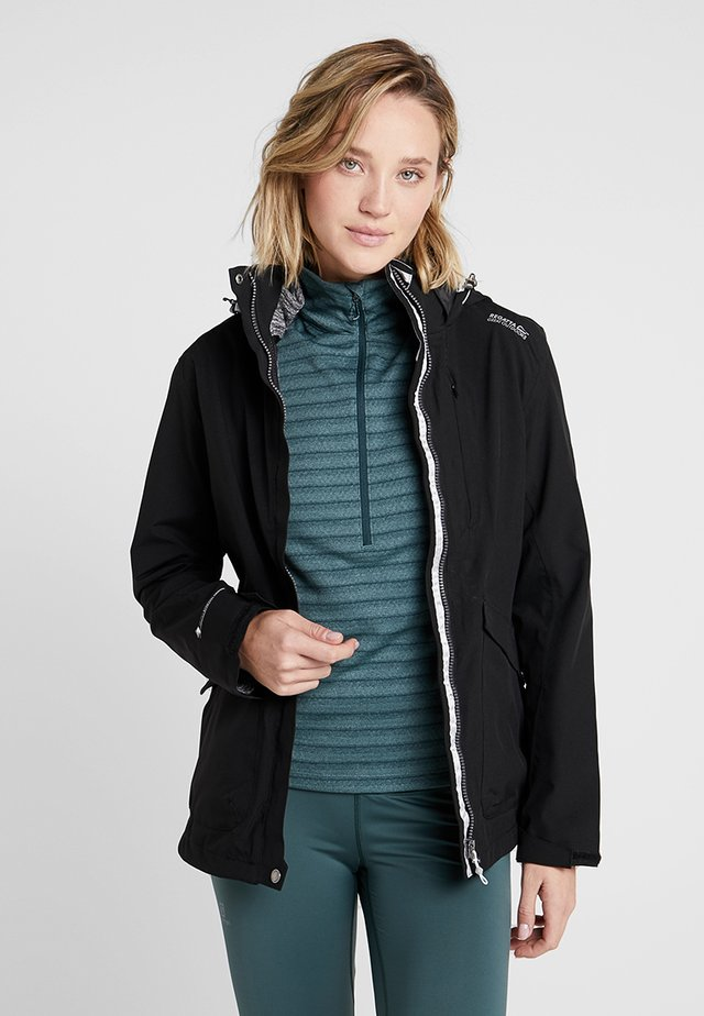 CALYN - Hardshell jacket - black
