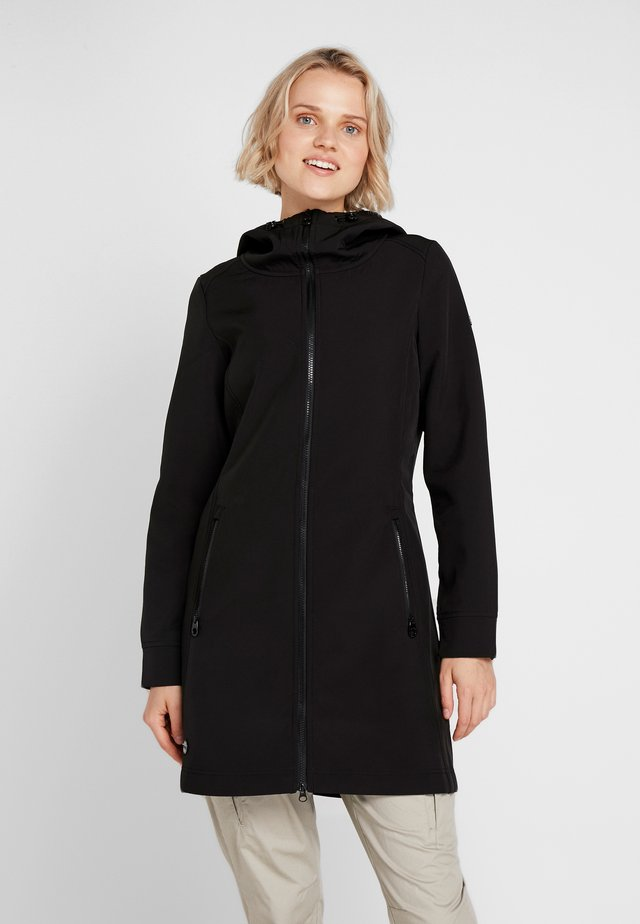 ADELPHIA - Soft shell jacket - black