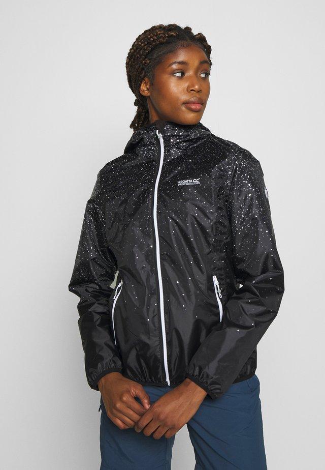 LEERA - Regnjakke / vandafvisende jakker - black