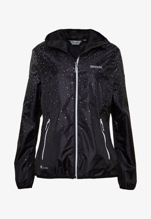 LEERA - Waterproof jacket - black