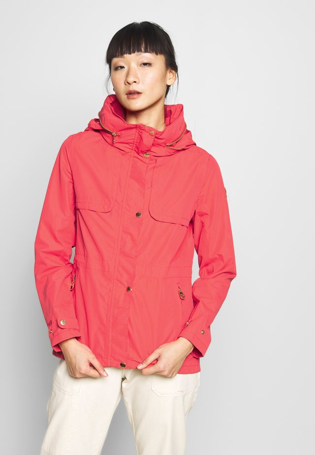 NARELLE - Waterproof jacket - red sky