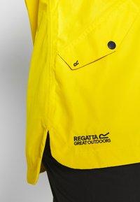 Regatta - BERTILLE - Kurtka przeciwdeszczowa - yellow sulphur - 8