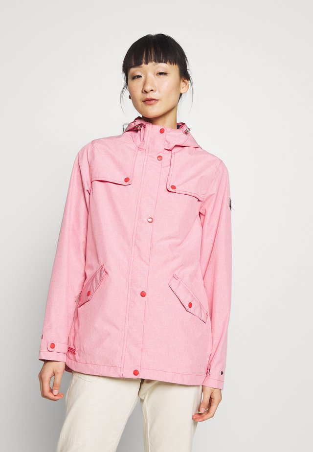 BERTILLE - Waterproof jacket - red sky
